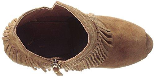 Lola Cruz Femmes Peep Toe Bootie Boot Cuero