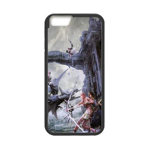 Final Fantasy Xiii 9 399 coque iPhone 6 4.7 Inch Housse téléphone Noir de couverture de cas coque EOKXLLNCD10478