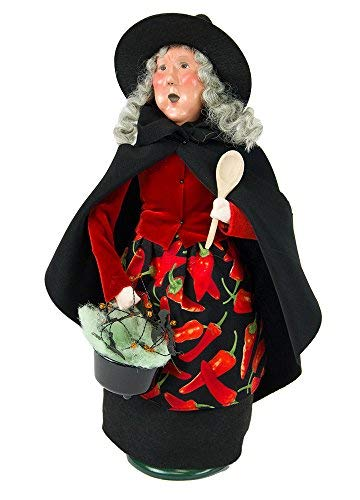 Byers' Choice Cauldron Witch Caroler Figurine #7183 from The Halloween -