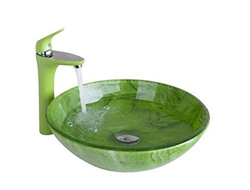 GOWE Wash Basin Faucet+Bathroom Sink Washbasin Chrome Hand-Painted Lavatory Bath Combine Set Faucet,Mixer Tap 0