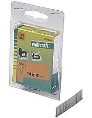 Wolfcraft 7234000 Tackernägel Typ 062, 14mm, 1.000 Stück