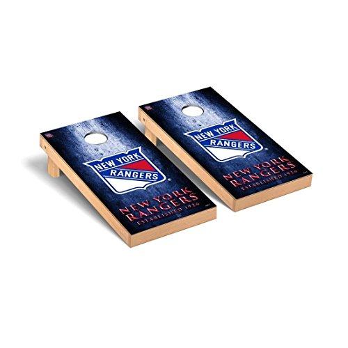 Victory Tailgate New York Rangers NHL Regulation Cornhole Game Set Museum Version