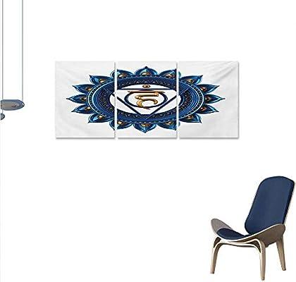 Amazon.com: Chakra - Lienzo decorativo para dormitorio ...