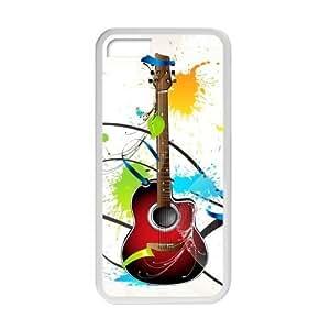 Welcome!Iphone 5C Cases-Brand New Design Music Guitar Printed High Quality TPU For Iphone 5C 4 Inch -01 WANGJING JINDA