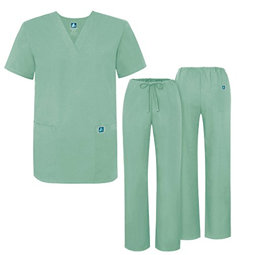 6916a574032 Adar Universal Medical Scrubs Set Medical Uniforms - Unisex Fit - 701 - SSP  -L - Buy Online in UAE. | Apparel Products in the UAE - See Prices, ...