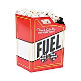 Race Car Fuel Can Popcorn Treat Boxes - Racing Birthday Party Supplies - 24 Pieces