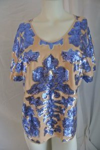 tracy-reese-neiman-marcus-sequin-blouse-size-meduim
