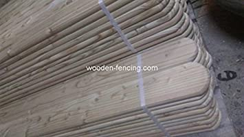 Zaunlatten 120x9x2 Sibirische Larche Zaunlatte Holzzaun Zaun Beste
