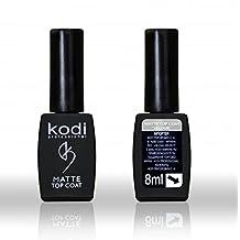 Kodi Professional Rubber Matte Velour Top Coat Soak Off Gel Polish Led UV 7ml 0.24 oz