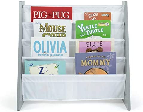 Humble Crew Kids Bookshelf 4 Tier Book Organizer