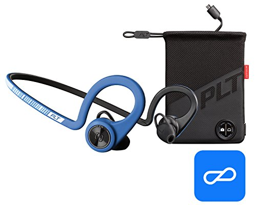 Plantronics BackBeat FIT Boost Edition Sport Earbuds, Waterproof Wireless Headphones with Charging Pouch, Access to Interactive Audio Coaching from the PEAR Personal Coach App, Power Blue by Plantronics (Image #5)