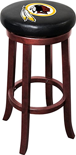 (Imperial Officially Licensed NFL Furniture: Wooden Bar Stool, Washington Redskins)