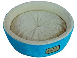 Armarkat Pet Bed, 14-Inch Diameter C12HTL/MB, Ivory by Armarkat