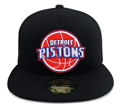 NEW EAST HAT Men Women Skull Flat Bill Hats Team Logo Embroidery Black Adjustable Snapback Baseball Caps