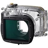 Canon WP-DC46 - Carcasa para fotografía subacuática PowerShot SX240/260 HS (estanco al agua, resistente a los elementos), transparente