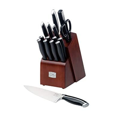 Chicago Cutlery Belmont 16-Piece Block Knife Set