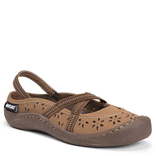 Muk Luks Womens Erin Chaussures Sneaker Tan