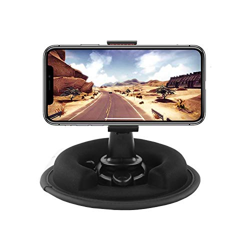 (Car Phone Mount Holder.Multifunction Portable Dashboard Friction Mount for all Garmin Nuvi,TomTom GPS. for Apple iPhone X 8 7 Plus 6S Samsung Galaxy S7 S8 S9 Edge Note 8 LG V30 Google Pixel MOTO DROI)