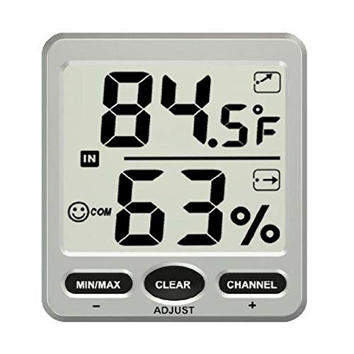 TS-WS-07-C1 8 Channel Wireless Weather Station Indoor Outdoor Thermometer Hygrometer Console -Nature Element Measurements Hygrometer - 1 x TS-WS-07-C1 8-Channel Wireless Weather Station - Thermo King Thermometer