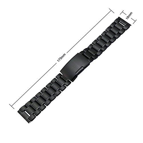 Zeiger Men Replacement Metal Watch Band