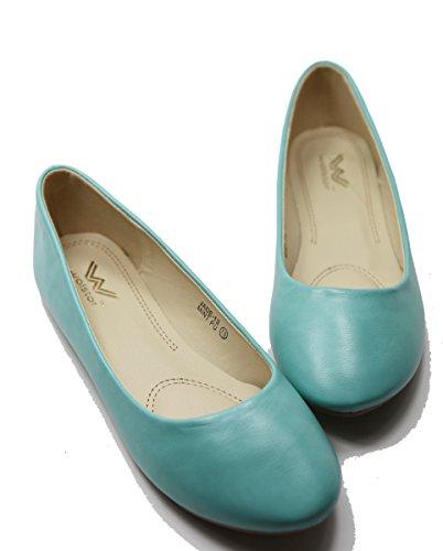 Max. Collectie Mogen Vrouwen Balletschoenen Alle Kleuren Pu-mint