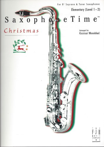 SaxophoneTime Christmas - For Bb Sorano & Tenor -