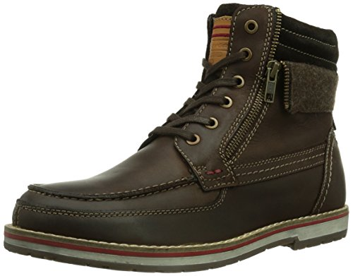 s.Oliver 16218 Herren Combat Boots Braun (MOCCA 304)