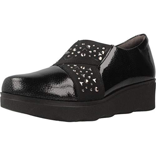 para Zapatos Marca Cordones Cordones Zapatos Color Negro PITILLOS Mujer De Mujer 5342P Modelo para Negro PITILLOS Negro de YrRrAqPE