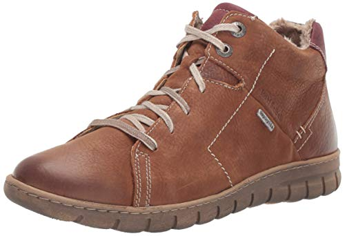 Josef Seibel Women's Steffi 58 Ankle Boot, Castagne, 38 Medium EU (7-7.5 - Ladies Seibel Shoes Josef