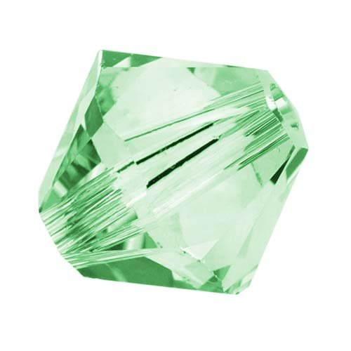 4mm Chrysolite Swarovski Crystal (Swarovski Crystal, #5328 Bicone Beads 4mm, 24 Pieces, Chrysolite)