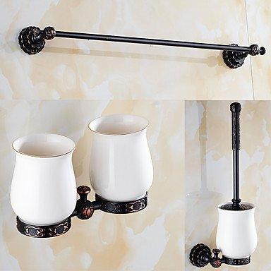 BSF un ensemble de trois produits (étagère de salle de bain-support de brosse à dents-Brosse WC-douche Panier) en