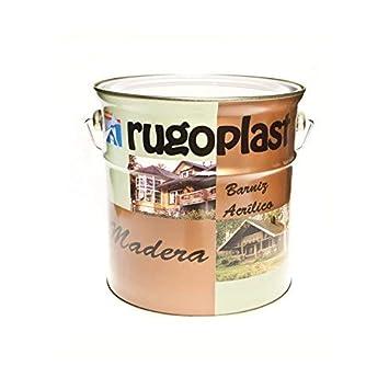 Rugoplast - Barniz de Hormigón Impreso de máxima calidad, ideal para barnizar todo tipo de piedra porosa, hormigón y derivados, 4 l, Incoloro