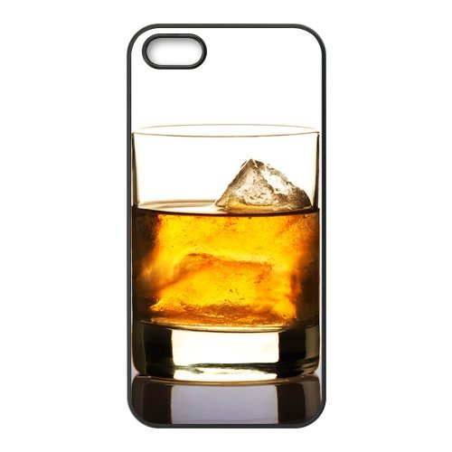 1 X Creative Old Scotch Ice Whiskey Design Snap on Apple iPhone 5/5s(TPU) Nice Durable Soft Rubber Case Cover (Nike Case Ipod 5)