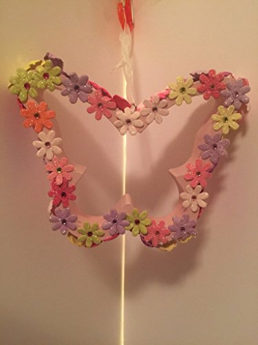 Fun Time Butterfly Accent - SPRING TIME FUN - HANGING BUTTERFLY -SPRING FLOWERS