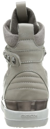 Geox Hyperspace A-Vit, Baskets mode femme Gris (Grey)