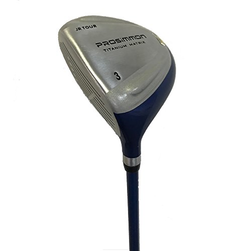 Prosimmon Golf Junior Kids Tour 3 Fairway Wood LEFTY for Ages 8-12 by PROSiMMON