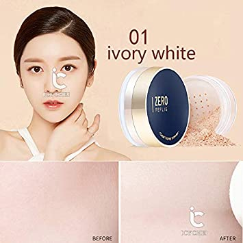 Amazon.com : ICYCHEER Matte Setting Foundation Makeup Natural For Women Oily Dry Skin Oil-Control Loose Powder Make Up Neutral Oil Free Matte Setting Face ...