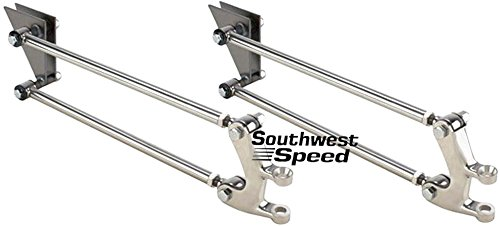 - NEW SOUTHWEST SPEED POLISHED STAINLESS STEEL 4-BAR FRONT SUSPENSION KIT FOR 1928-1931 FORD MODEL A, STREET ROD HOT ROD RAT ROD NOSTALGIA