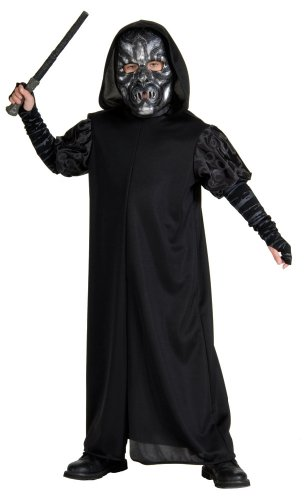 Death Eater Halloween Costumes - Harry Potter Child's Death Eater Costume, Large