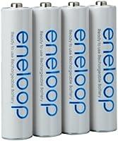 Pack de 4 baterías Panasonic eneloop tipo Mignon AA, 2000 mAh, BK-3MCCE (mín. 1900 mAh) con una Caja para Baterías de alta calidad de Heiba Electronics: Amazon.es: Electrónica