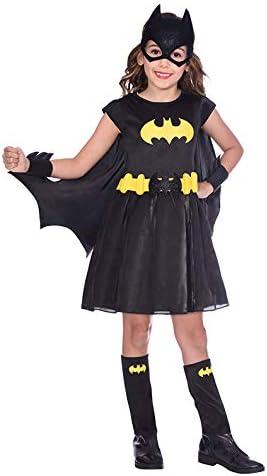 amscan Girls Classic Warner Bros Batgirl Child Kids Fancy Dress Costume 3-4 Years