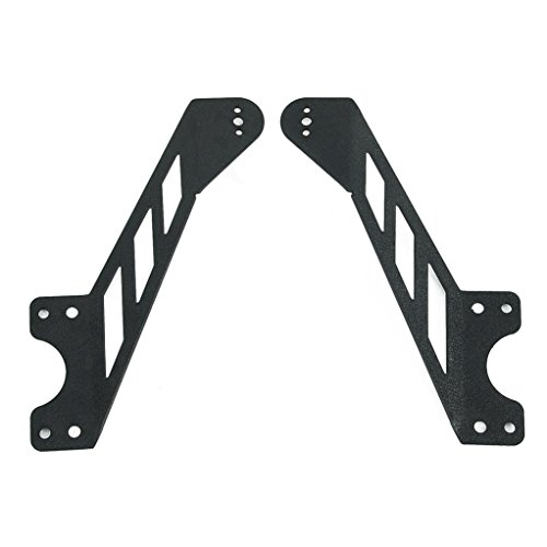 "EAG Grille Mounting Brackets Fit for 07-17 Jeep Wrangler JK 20"" Single LED Light Bar"