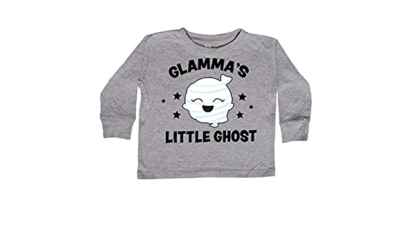 inktastic Cute Tios Little Ghost with Stars Toddler Long Sleeve T-Shirt