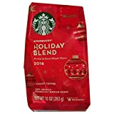 2018 Starbucks Holiday Blend Ground Coffee- 10 Oz. Bag (Pack of 2)