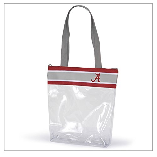 Clear Tote Bags For College Stadium Approved Transparent Officially Licensed Collegiate Gear With Logo And Zipper -12