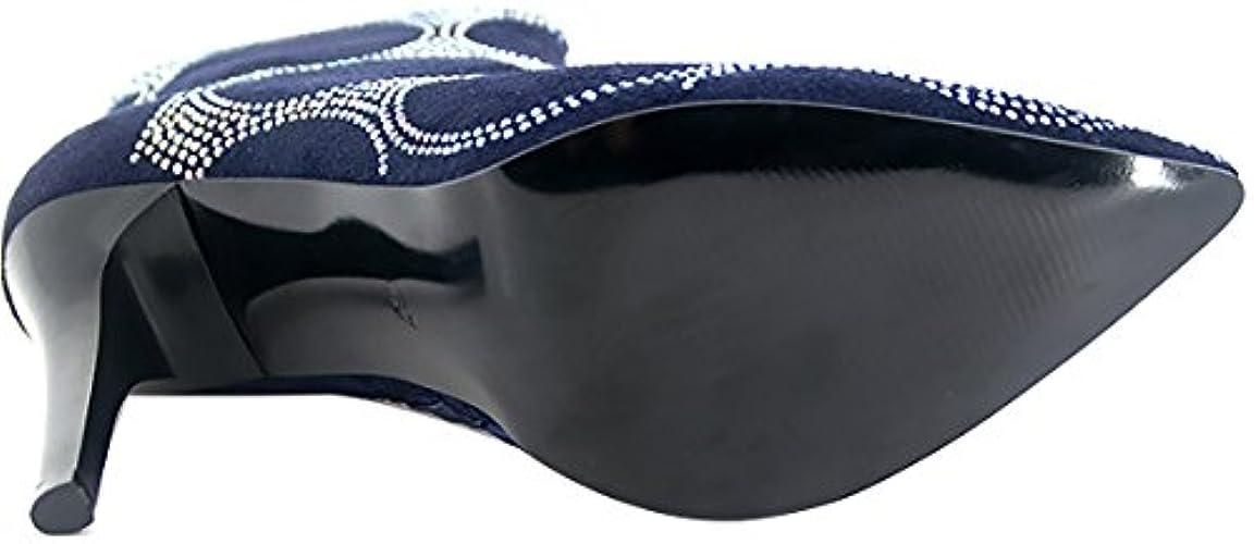 Stiletto Abhbe Saappaat 10 5cm Arraysa Vetoketju Naiset WXRqXnB