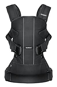Baby Carrier One - Black, Cotton