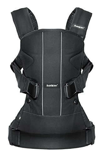 Baby Carrier One (Limited Edition Color), Algodón, negro, algodón