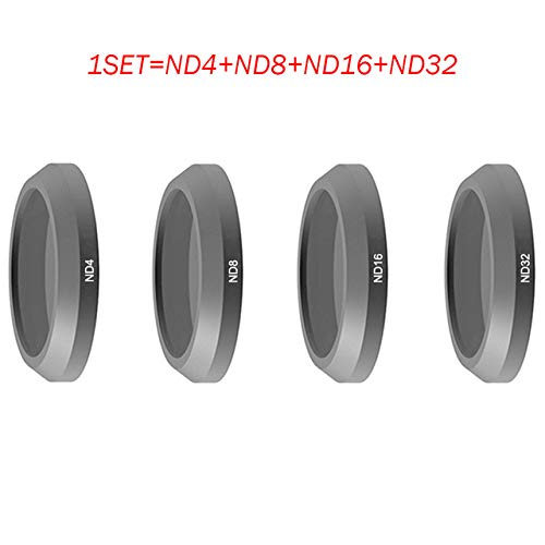 Accessories ND4 ND8 ND16 ND32 CPL MCUV Lens Filter for Parrot ANAFI Drone Gimbal Camera Lens - (Color: Set B, Delivery from 15 to 20 Day)