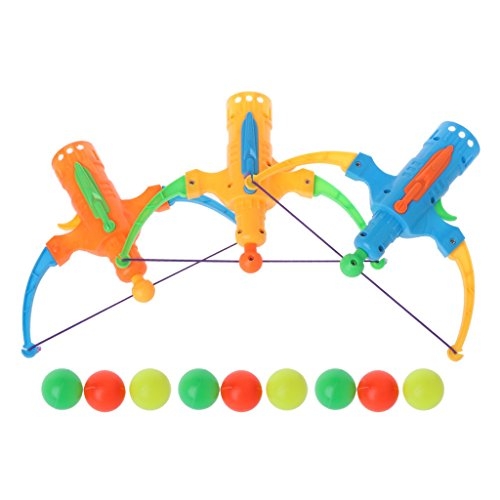 Cencity Archery Shooting Toy Arrow Table Tennis Gun Bow Sports Slingshot Hunting Toy for Kids, Raves, Birthday, Wedding, Christmas, Halloween, Children Party Decor Toy for $<!--$4.73-->